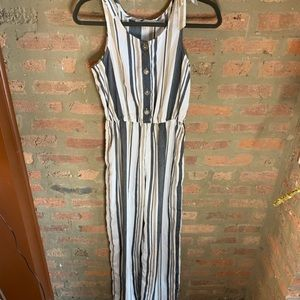 Striped jumpsuit from discovery